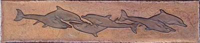 "Dolphins Border (9"" x 52"")"