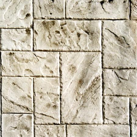 "Rotating Ashlar-Italian Slate (47"" x 47"") Concrete Stamp"