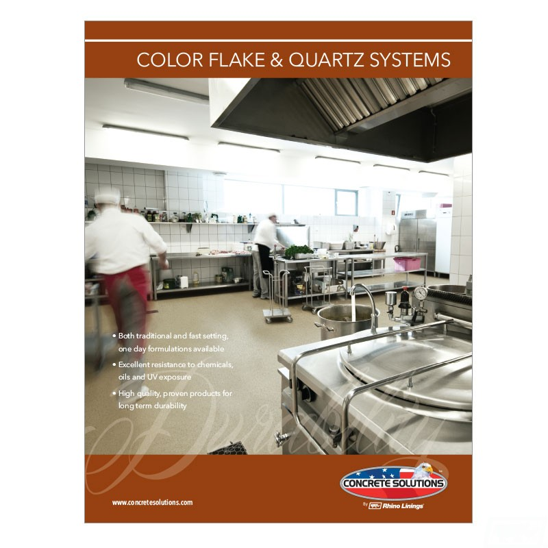 Color Flake & Quartz Systems Flyer