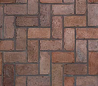"""Herringbone Used Brick (24"""" x 37"""")"""