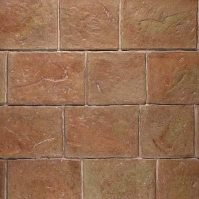 "London Cobblestone (24"" x 36"") Concrete Stamp Application"