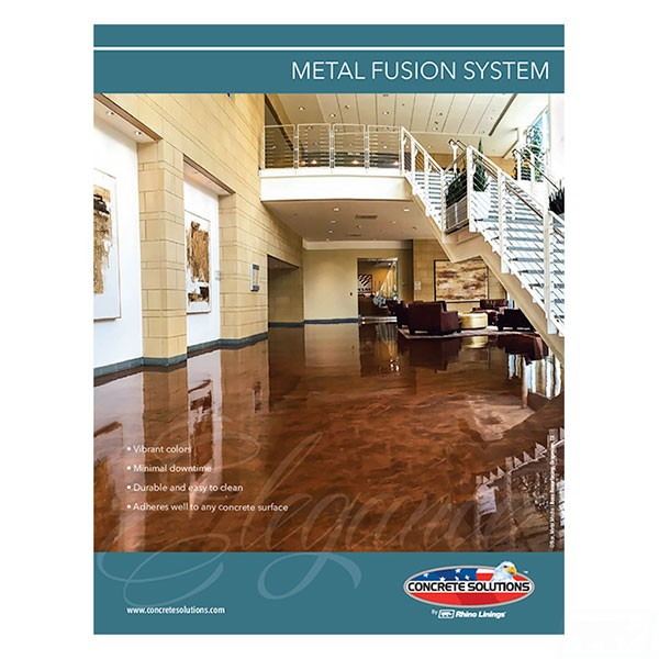 Metal Fusion Flyer - Front