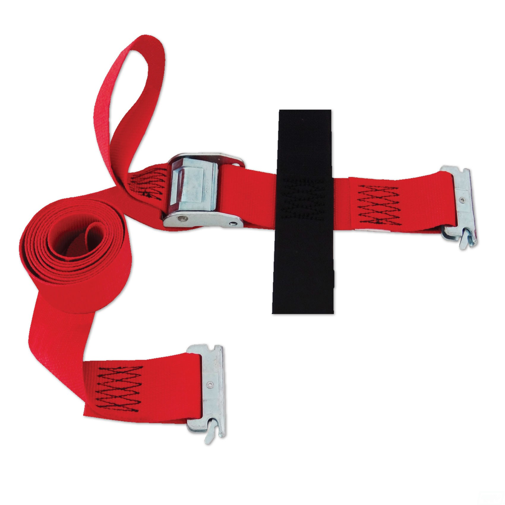 "Logistic E-Strap 2""x16' w/Cam, Red"