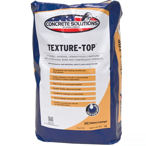 Texture-Top polymer concrete