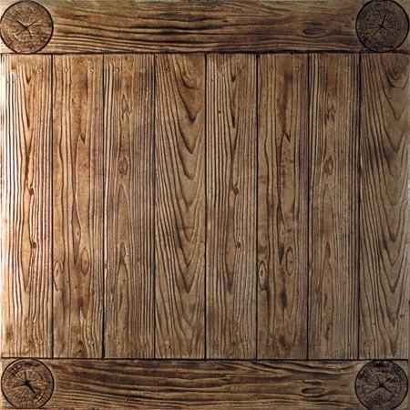 """6"""" Wood Plank Walkway (2' x 4')"""