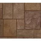 "Rotating Ashlar-Roman Slate (47"" x 47"") Concrete Stamp"