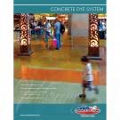 Concrete Dye flyer - front