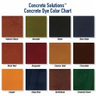 Concrete Dye Color Options 1