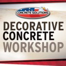 Concrete Overlay Workshop
