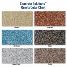 Quartz Granule Color Options