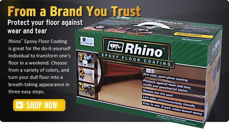 DIY garage floor coating kit