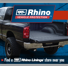 find a Rhino Linings store