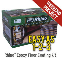 Rhino Epoxy Floor Coating Kit