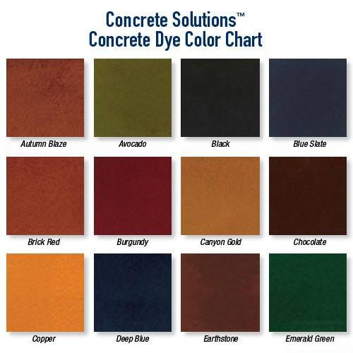 Concrete Dye Rhino Linings